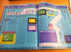 Retro Gamer magazine article about Mined-Out in Jan 2014, quoting this site.